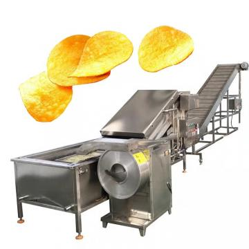 Automatic Industrial Potato Chips Making Machine French Fries Production Line