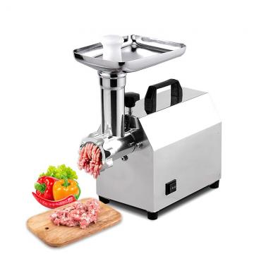 Hr-8/12/22/32 China Product Manufacturers Hand Polish Commercial Sausage Mixer Household Cooks Stainless Steel Meat Grinder with Pulley