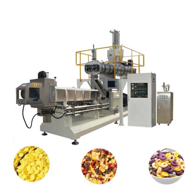 Fragrant Corn Flakes Maker Puffed Breakfast Cereals Production Line Machine